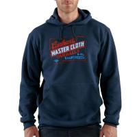 Carhartt K506 Midweight Master Cloth Graphic Hooded Sweatshirt Closeout