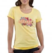 Carhartt WK075 Women's Short Sleeve Multi-Print Logo Crewneck T-Shirt Closeout