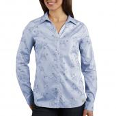 Carhartt WS014 Women's Embroidered Woven Shirt Closeout