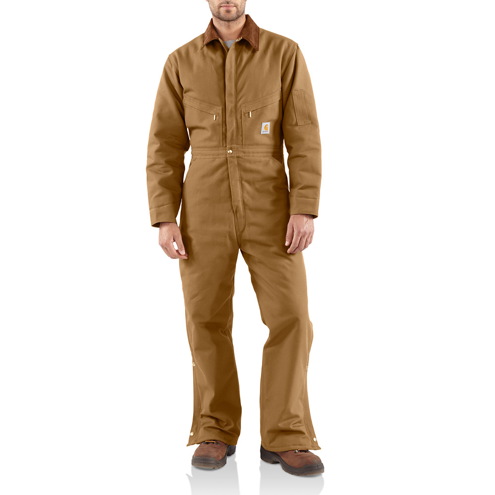 Carhartt X01 Carhartt Duck Coverall Quilt Lined At
